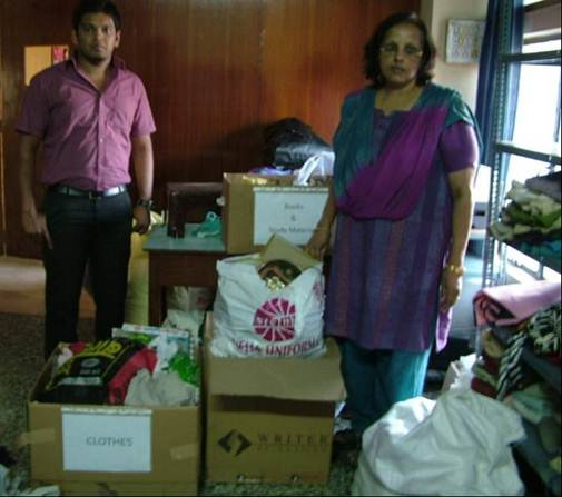 Inteva Bangalore Collects Donations To Brighten Holidays